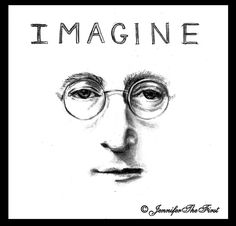 John Lennon by JenniferTheFirst.deviantart.com