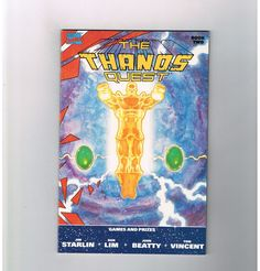 THE THANOS QUEST #2 Gorgeous grade 9.6 classic by Jim Starlin!  http://www.ebay.com/itm/-/301988560871?roken=cUgayN&soutkn=XUuP6G