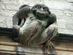 Monkey grotesque at Oxford.