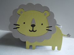 Zoo Animal Die Cuts ~ Lion Die Cuts ~ Safari Themed Baby Shower, Jungle Themed Birthday Party, Gender Neutral Baby Shower, Zoo Themed Party