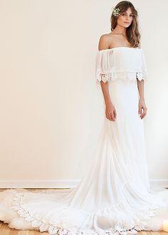 Daughters of Simone Wedding Dress | Brides.com