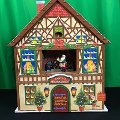 Mr. Christmas Animated Advent Calendar House Music Box NEW UNIQUE FROM OTHERS #MrChristmas