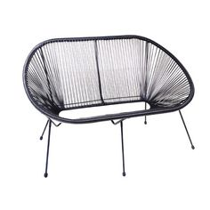 Trådsofa Outdoor Chairs, Outdoor Furniture, Outdoor Decor, Home Decor, Decoration Home, Room Decor, Garden Chairs, Interior Design, Home Interiors