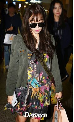 the intrusion of paparazzi and the insanity of airport fashion aside, tiffany's style is ❤