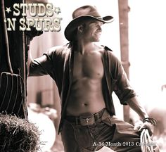 Studs 'N Spurs 2013 Wall Calendar: ?Cowboy up? in 2013 with this calendar filled with handsome faces, sculpted bodies, and friendly winks. The raw virility