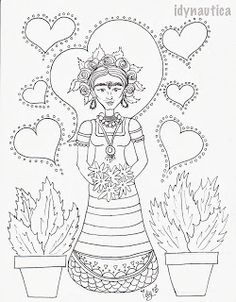 Printables Frida Kahlo Worksheets frida kahlo make your own body cast printable kahlo