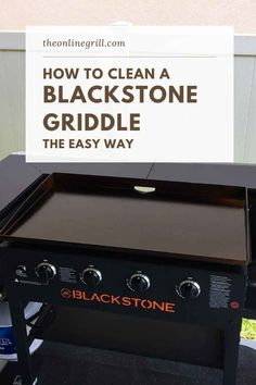 Blackstone's range of outdoor griddles are perfect for outdoor grilling, but frequent use can lead to the buildup of grease, wear, and rust. Here's how to clean your Blackstone griddle, the right way. Propane Griddle, Griddle Grill, Hibachi Recipes, Grilling Recipes, Vegetarian Grilling, Healthy Grilling, Camping Recipes, Barbecue Recipes, Barbecue Sauce