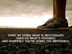 ...and suddenly you're doing the impossible.