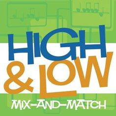 High & Low Mix-and-Match | Pitch Worksheets and Lesson (Digital Print) - CLICK HERE for more info http://makingmusicfun.net/htm/f_printit_lesson_resources/high-low-mix-and-match-lesson-worksheets.htm