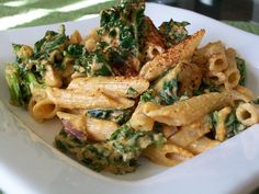 vegan kale pasta from cheapandsimpleveganrecipes.com