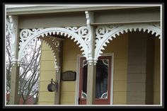 Posts about Victorian Porch written by Victorian Essence Victorian Porch, Victorian Homes, Porch Trim, Front Porch, Porch Decorating, Interior Decorating, Door Brackets, Porch Posts, Second Empire