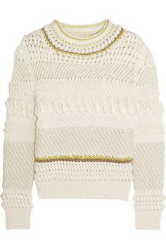 Chloé Textured wool-blend sweater $1,295