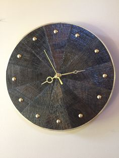 Barn Board Projects, Clock, Wall, Home Decor, Watch, Decoration Home, Room Decor, Clocks, The Hours