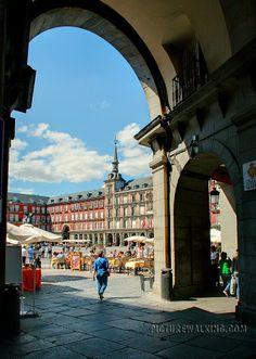 España - Madrid - Plaza Mayor