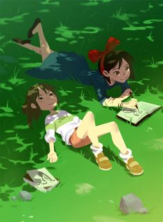 Chihiro and Kiki