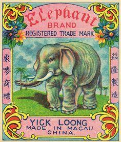 Elephant C2 firecracker pack label