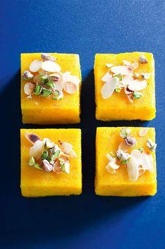 Gâteau indien à la semoule et aux carottes © Amélie Roche