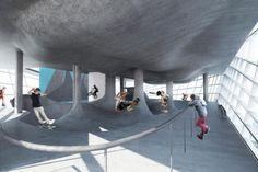 イギリスに世界初の立体型スケートパークが誕生へ
