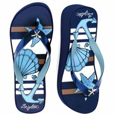 Shell Platform Flip Flop available at #BrightonCollectibles
