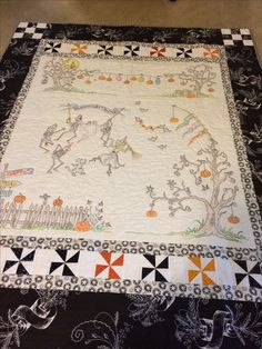 Crabapple Hill Dancing by the Light of the Moon - my first Crabapple Hill Quilt made with my mom