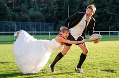 Rugby Wedding
