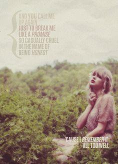 My favorite Taylor Swift lyric