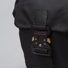 Alyx Studio Tank Backpack in Black Shine - Notre