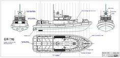 Plans garde cote US Yacht Design, Boat Design, Rc Boot, Police Patrol, Landing Craft, Wood Boats, Speed Boats, Boat Plans, Model Ships