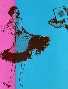 Marquise de Sevigne by Rene Gruau 1963