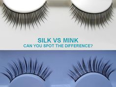 Silk Lashes Vs Mink Lashes - Can You Spot The Difference? - Minki Lashes-Deciding between silk lashes and mink lashes for a more natural or dramatic look? Learn about differences in color, texture, weight and cost of the 2 types.