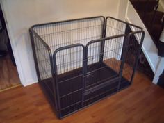 Our whelping pen arrived. Just waiting for puppies now! Pug Puppies, Pet Puppy, Extra Large Dog Cage, Dog Whelping Box, Puppy Pens, Airline Pet Carrier, Dog Cages, Playpen, Pet Carriers