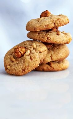 The extra pinch of salt, along with the added sweetness of honey-roasted peanuts, makes these sweet, salty peanut cookies the best you'll ever taste! | Image: Canadian Living Holiday Baking 2014 | #ChristmasBaking #TestedTillPerfect