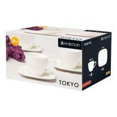 Komplet kawowy Tokyo 12-elementowy AMBITION