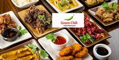 Green Chili is an Indian Restaurant where you can have variety of South Indian and North Indian Food. You can also taste delicious Indian Desserts.