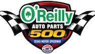 "O'Reilly Auto Parts 500 is a Monster Energy NASCAR Cup Series stock car race held at Texas Motor Speedway (TMS) in Fort Worth, Texas. Even though it is advertised as a ""500-mile"" race, because TMS is a track that is 1.5 miles (2.4 km) in length, the actual race distance is 501 miles (806.3 km)."