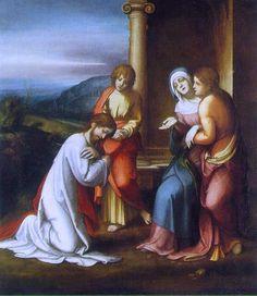 Christ taking Leave of His Mother (Correggio) c. 1512