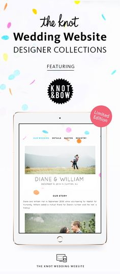 The Knot Wedding Website Designer Collection All In One Registry Guest