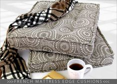 French Mattress Edge Cushions   Sew4Home