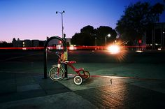 Tricycle by William Eggleston by brandon shigeta, via Flickr