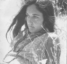 Joan Baez, already a folk music star in her own right when she hooked up with Dylan.