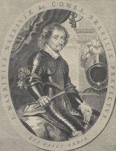 Johann Moritz von Nassau-Siegen Nassau, Brazilië, 17e Eeuw, Pruisen