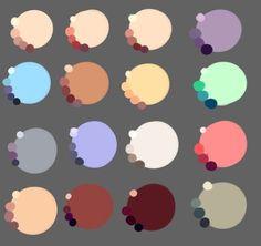 Skin Tony Palette Art Character Design 43 New Ideas Skin Color Palette, Palette Art, Skin Colors, Color Palettes, Digital Painting Tutorials, Digital Art Tutorial, Digital Paintings, Skin Drawing, Drawing Tips
