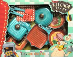 KITCHEN SET Cooking Together, Free Range, Kitchen Sets, Home Kitchens, Packaging, Diy Kitchen Appliances, Kitchen, Wrapping