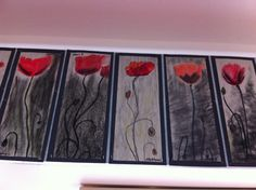 One Minute's Silence. Poppy artwork. I like the choice of the subdued black background. It goes well with the story.