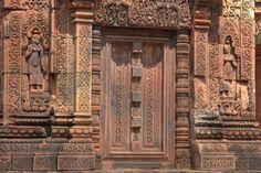 Siem Reap (Cambodia) - Banteay Srei door