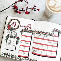 As we near the end of the year, you might be wondering about how you want to create your December bullet journal pages or even your Christmas bullet journal spreads. So today, I want to showcase some of my favorite ways to add some holiday cheer to your bullet journal! You can add a ton of December cheer with just a few simple elements. Here are 30+ amazing Christmas bullet journal ideas to get you excited for December! #Decemberbulletjournal #christmasbulletjournal #bulletjournalideas