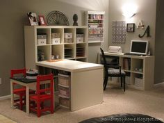 Organized Craft Space For Everyone