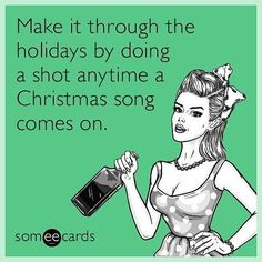 "1,186 Likes, 65 Comments - The official Someecards. (@someecards) on Instagram: ""Good luck!! #christmas #christmasmusic #ecards"""