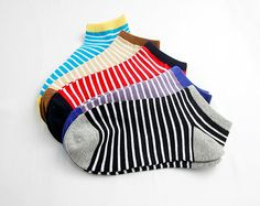 Fathers Day Gift Total 5 Pairs Short  Socks Cotton by TangRenTang, $9.60 Usa Shoes, Short Socks, No Show Socks, Cotton Shorts, Fathers Day Gifts, Spring Summer, Pairs, Woman, Shopping