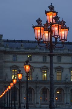 Travel Tips for France - Paris Street Lamps